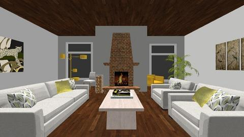 DRAW THIS ONE - Living room - by Davenport2