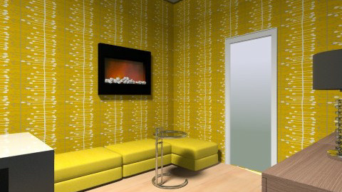 SAM dec fauteuils jaunes2 - Dining room - by johanne