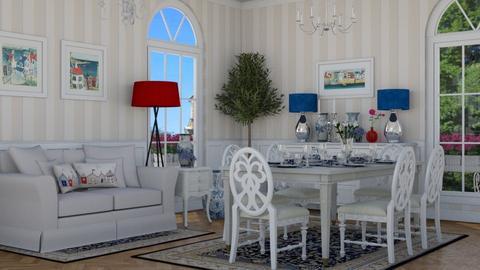 TRADITIONAL  - Dining room - by TeA design Belgrade