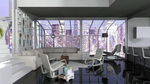 Splitlevel home 1 - Living room - by XValidze
