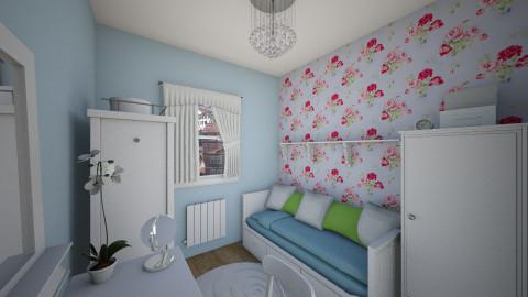 Shabby chic bedroom - Vintage - Bedroom - by beatajewula