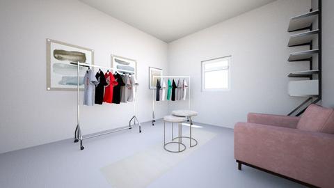 exhibition room - by ksurzhyk