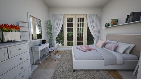 Nadya Bedroom - Minimal - Bedroom - by nadyabbrah