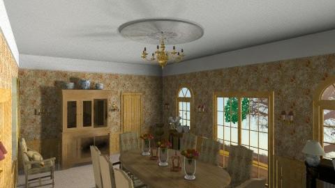 Dining room ver 2 - by Karin Eke