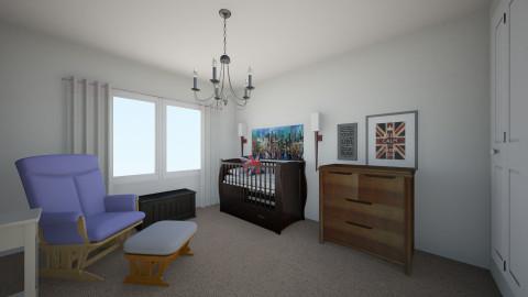 Nursery - Rustic - Kids room - by meganroseharms