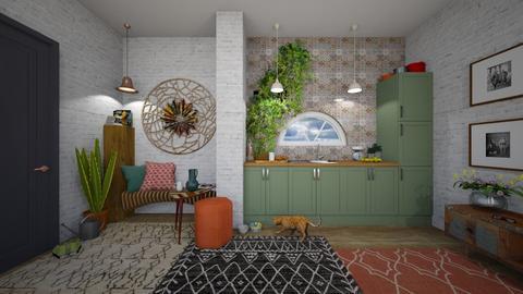 Bohemian Kitchen - by Heddau