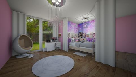 Galaxy Girl - Feminine - Bedroom - by agirlwithdreams