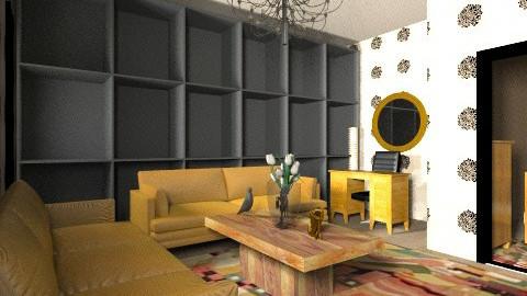 rustico  - Living room - by Naimegouveia