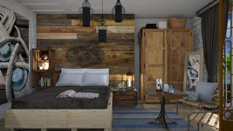 Drift - Rustic - Bedroom - by augustmoon