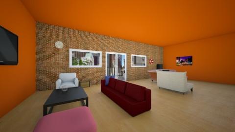 new york living room - Living room - by the desingner
