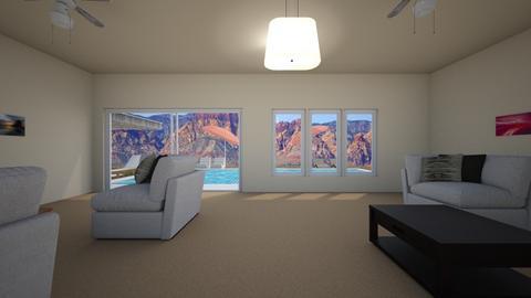 Desert Getaway - Living room - by WestVirginiaRebel