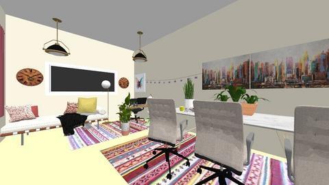 Boho office - Office - by lexi_g