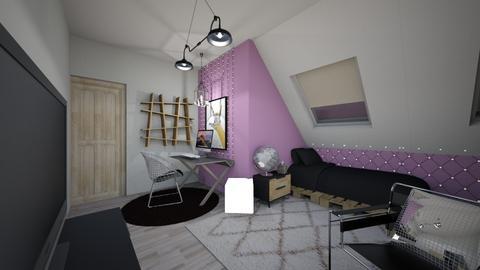 Rustic Loft - Rustic - Bedroom - by emmysnack