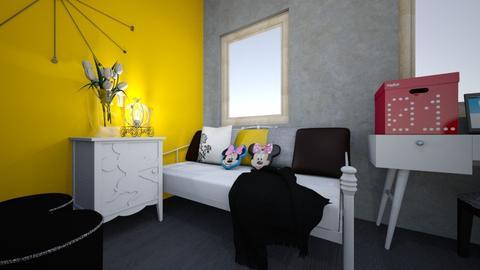3d - Kids room - by kinia21