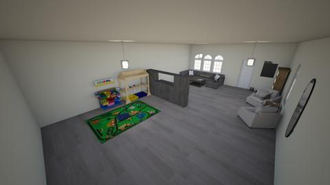 Livingroom and kid space - by ItzKiKi
