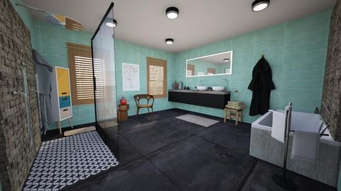 mc bathroom - Bathroom - by sasouli