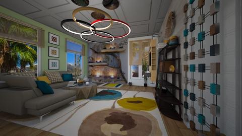 Template 2019 living room - by kla