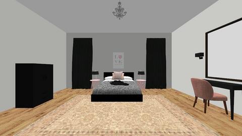 Bedroom - Glamour - Bedroom - by emmas004