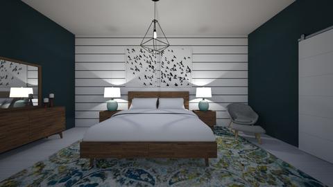 Apartment 0556 Bedroom - Modern - Bedroom - by Puppies44