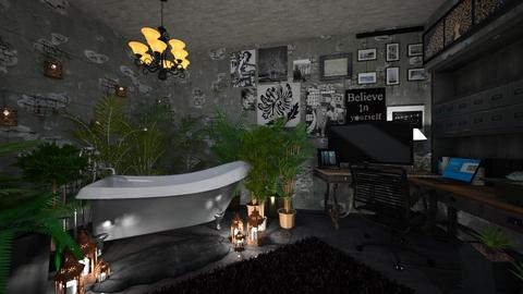 Corner for chill - Bathroom - by Anezka01