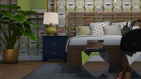 Geometric  - Bedroom - by cp_interiors