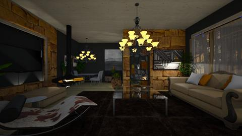 Ecletic - Living room - by nanabpf