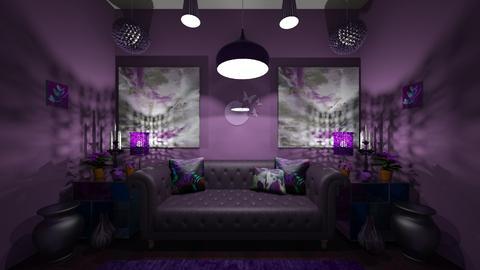purple rose - Minimal - by brooklyn128