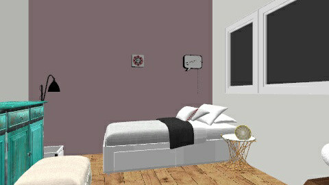 char - Bedroom - by charlot van dam