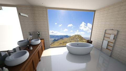 Banheiro - Bathroom - by Brunalimaporfirio