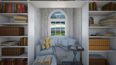 Cozy Sunday - Living room - by Brigid123