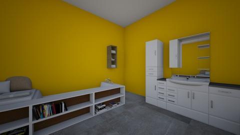 yellow - Bathroom - by elenbartlett