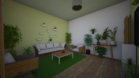 Urban Jungle Living - Living room - by emmas004