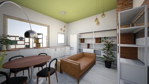Cozinha na Janela - Kitchen - by picroger