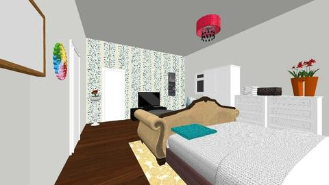 Elegant Master_Guesthouse - Eclectic - Bedroom - by Ahmedb