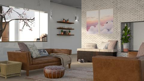 sunset ridge - Living room - by Kelli Mallory