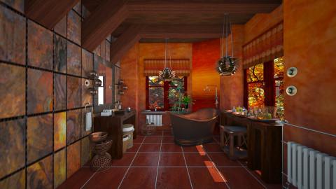 copper age - Eclectic - Bathroom - by Ida Dzanovic