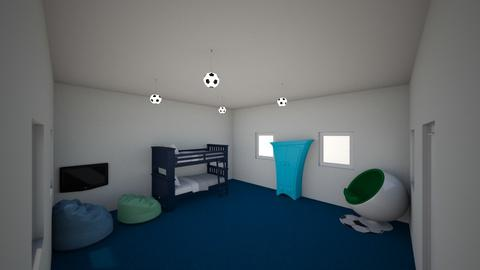 Little Boy room - Bedroom - by Itsjustme1
