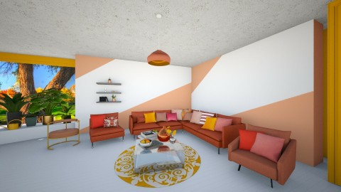 Pantone - Living room - by adeldesign
