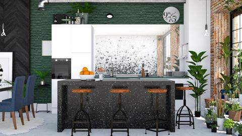 Splatter - Kitchen - by ArtHousedeco