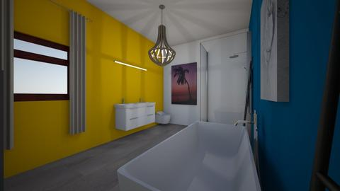 salle de bain woodie - Glamour - Bathroom - by camille1234