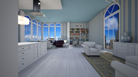 DF - Eclectic - Living room - by Oliveira Fabio