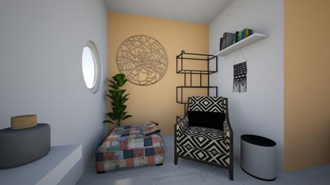 Cosy corner day - Living room - by Orange Blossom Interiors