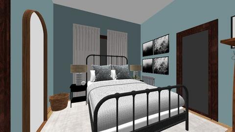 BrookeJean bedroom - by fwmadebycarli