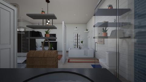 bath hall to sink - Bathroom - by ellenrice