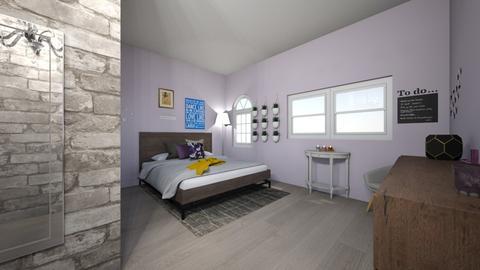 Studio Bedroom - Bedroom - by ellarowe224