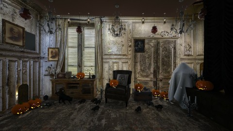 Halloween  - Vintage - by faye2005