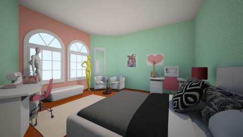 Fashion Designer Dream - Glamour - Bedroom - by pandagirl2102
