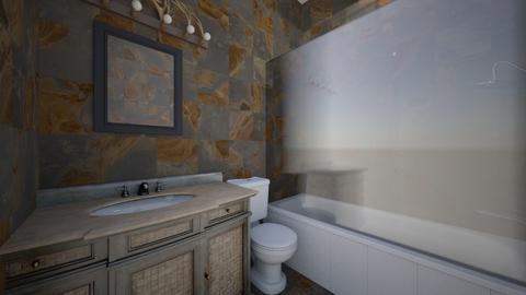 Basement Bathroom - Bathroom - by SammyJPili