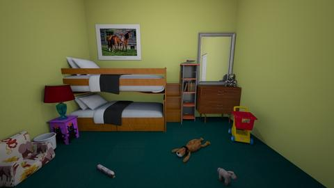 Kid room 04 - Kids room - by muleok