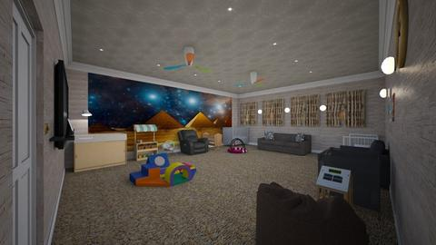 Cry Room - Modern - Kids room - by alonatech_2nd